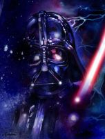 Lord Vader in starlight by Callista1981