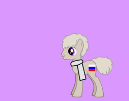 Russia as a pony by nogirl70
