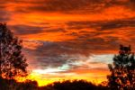 Blazing Sunset HDR by pantsonnos
