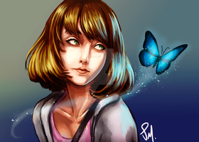 Max Caulfield fanart by JPMarquesArt