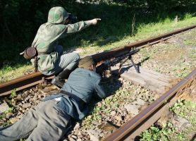 MG 42 - the railtrack watchers 9 by SPIDIvonMARDER
