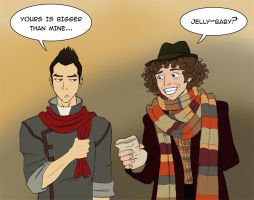 Scarf buddies by Mar17swgirl