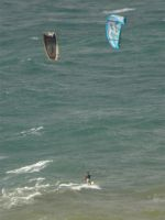 Parachute surfing 2 by Agatje