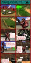 AWG Comics Issue 5 by GameKeeperX