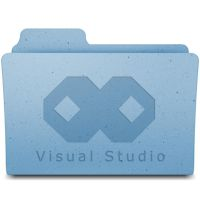 Visual Studio Leopard folder by Frozzare