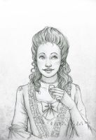 Portrait Commission: Belle by SerenaVerdeArt