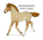 Nordanner Foal 9534 Design by Neko-Raccoon