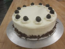 Black Forest Cake by recycledrapunzel