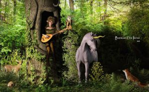 Chanteuse of the Forest by Dani3D