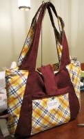 Cottage Tote by MammaShaClothing