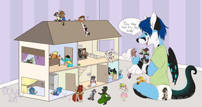 The special Dollhouse by JCFox