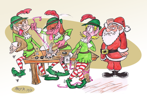 Elf and safety by Granitoons