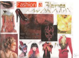 Fire a Flames Inspiration Board by TheeFashionista