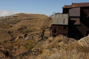 old abandoned gold mine 2 by fotophi