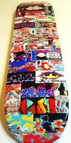 Skateboard Graffiti Art Sticker Bomb by MF-minK