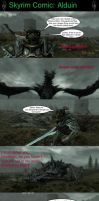 Skyrim is Strange - Alduin by HelloMyNameIsEd