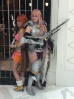 Vanille and Lightning Farron (Katsucon 13) by Lucy0566