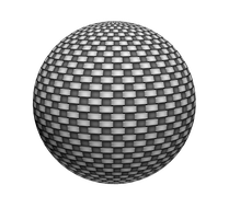 abstract sphere by lagrimadejarjayes