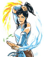 Korra by Guts-N-Effort