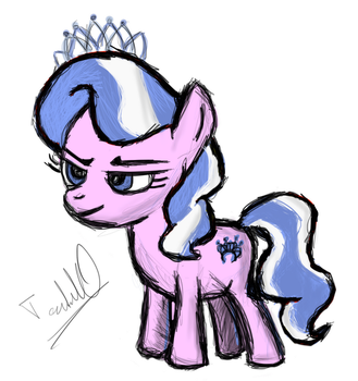 Diamond Tiara...that smug little- by tenseconds10