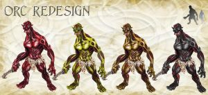 Orc redesign by sethu13