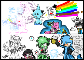 iScribble doodles 002 by Videogamescool