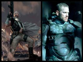 X-Force Movie Casting: Cable by Myths-of-Genesis