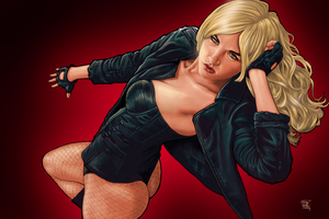 Aurora O'Brien - The Black Canary by dendorrity