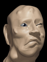 BUBONIC HEAD by cybaBABE