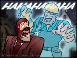 TF2 - The Ghost BLU Engineer by RatchetMario