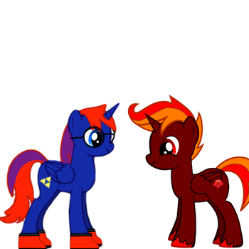 My Brother Came To Visit by MLPBrony87654