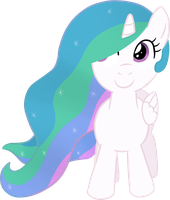 Filly Celestia by moemneop