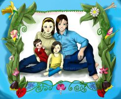Loire Family Photo FF8 by LadyCyco