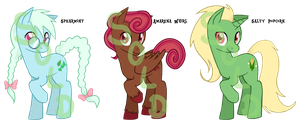 Pony Adoptables 5 SOLD by TariToons