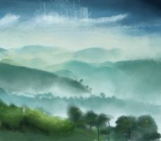 Valley Speedpainting by greensad