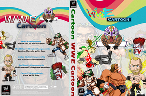 WWE Cartoon-DVD Cover (My First Cover Ever) by XRew7