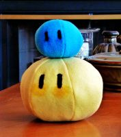 7X bigger Yellow Dango Plush by FreshCrayons