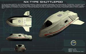 NX-Type Shuttlepod ortho [New] by unusualsuspex