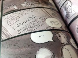 Myst Comic - In PRINT! by larkinheather