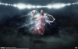 Derrick Rose Wallpaper by Angelmaker666