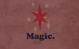 Wallpaper - Worn Magic by ElectricCoffee