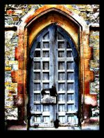 Archaic door I by tomaplaw