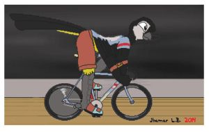 Track Cycling by SammfeatBlueheart