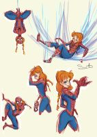 SpiderAnna by samanthadoodles