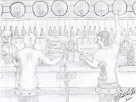 Zombie Bar by J-L-Houle