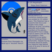 Fakemon-Megaleapth by pika247