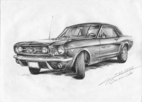 Mustang Ford by TomekO