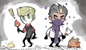 Don't Starve Boys by The-Ninja-Artist