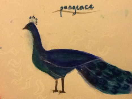 Pungence the peacock by TheSilentArtist2225