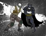 Batman vs Bane_ The DARK KNIGHT RISES by sirkuss